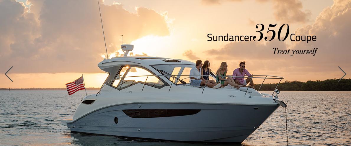 Sea Ray Boats Sundancer 350 Coupe